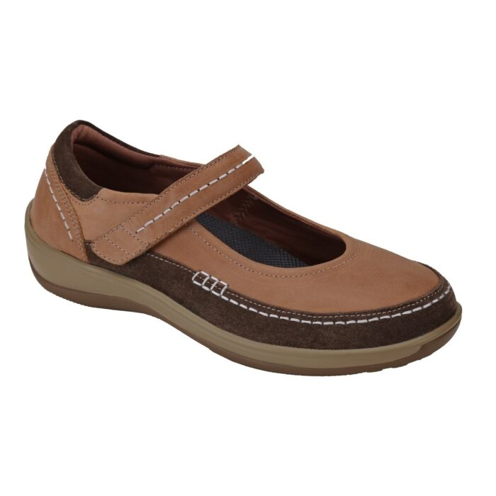Athens – Beige Orthopedic Shoes