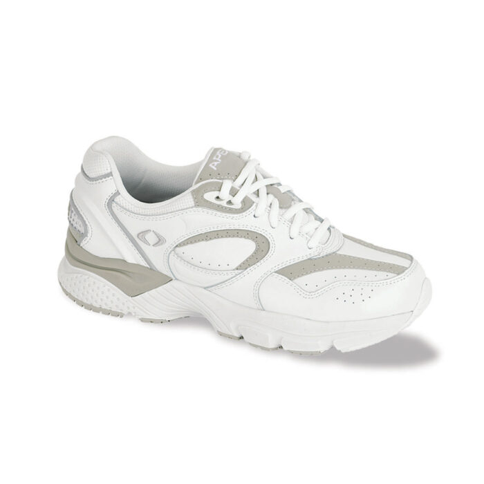 Lace Walkers X Last Athletic Shoe - White/Gray