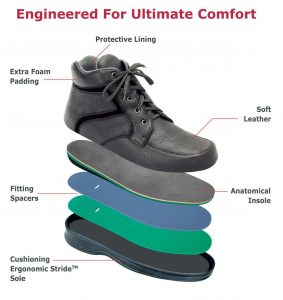 Care Med orthopedic shoes