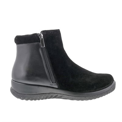 Drew - Kool Black Suede Leather Boots