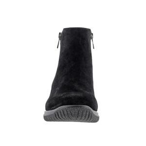 Drew - Kool Black Suede Leather Boots
